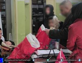 توفير ملابس العيد للأطفال الجرحى وذوي الاعاقة في قطاع غزة