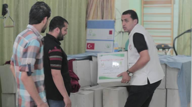 السلامة الخيرية تنفذ 34 مشروع اغاثي خلال شهر رمضان المبارك .