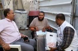 السلامة الخيرية تنفذ زيارات معايدة للجرحى ذوي الاعاقة في قطاع غزة .