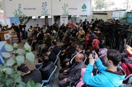 خلال مؤتمر ببيت الصحافة مطالب بإنصاف الجرحى الفلسطينيين ومنحهم حقوقهم