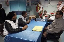 السلامة الخيرية تنفذ زيارة لمركز العلاج الطبيعي فى مستشفى ناصر بمحافظة خانيونس