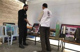 السلامة الخيرية تشارك فى المعرض التوعوي الذى اقامته اللجنة الدولية للصليب الاحمر بمناسبة اليوم العالمي للتوعية بمخاطر المخلفات الحربية والالغام .