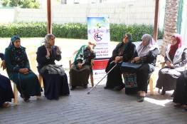 السلامة الخيرية تعقد لقاء لعدد من الجريحات في محافظة الشمال .